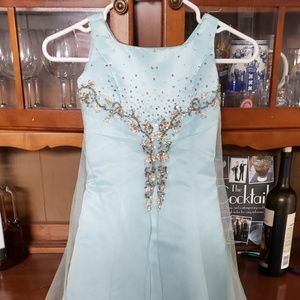 Light Blue Sz 6 Tiffany Dress